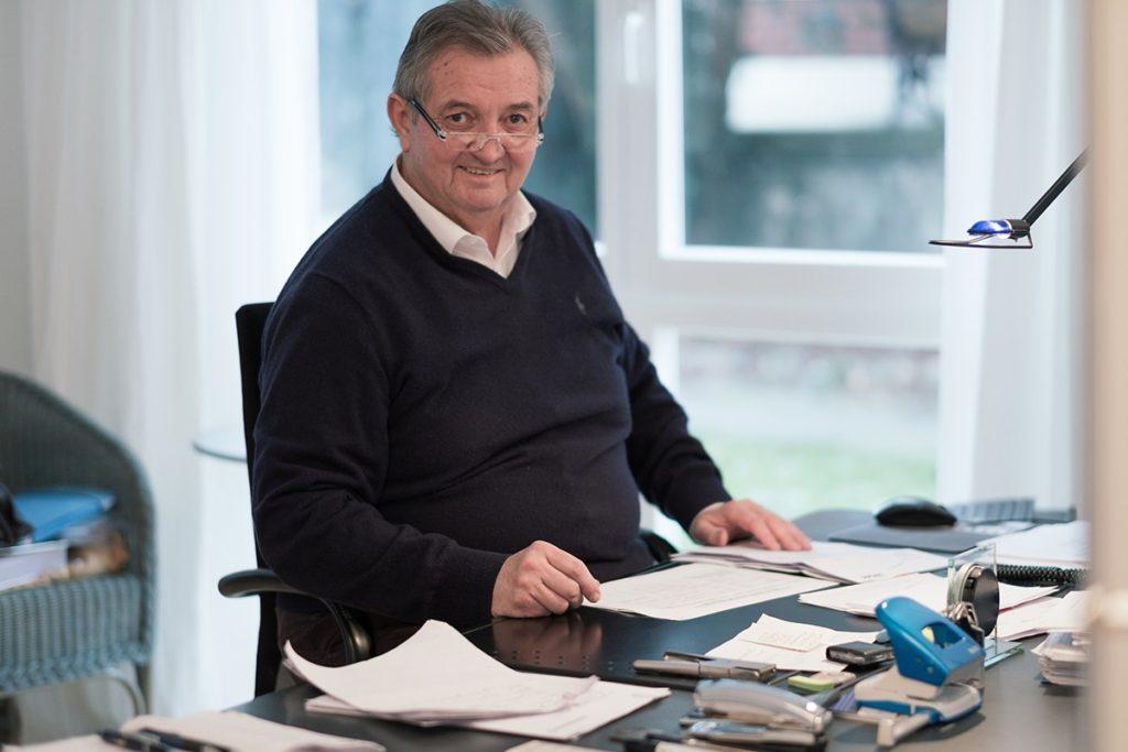 Gründer des Familienunternehmens Immobilien Schulte in Soest.